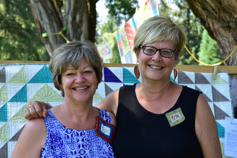 2018 MBQG Featured Quilters Kim and Kris