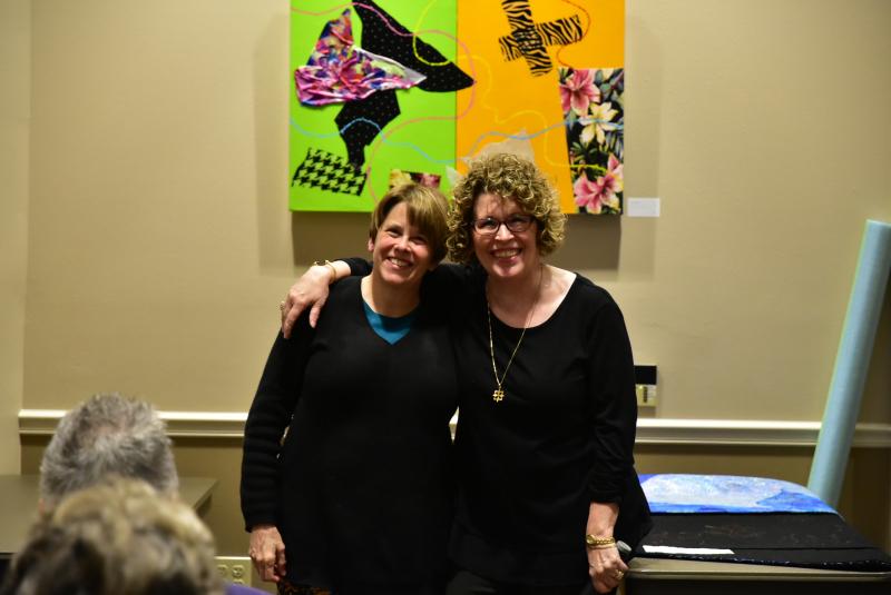 Kathy Shaker and Bevalee Runner (2)