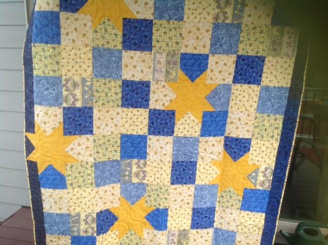 Joyce Andrew CC Fat quarter Quilt