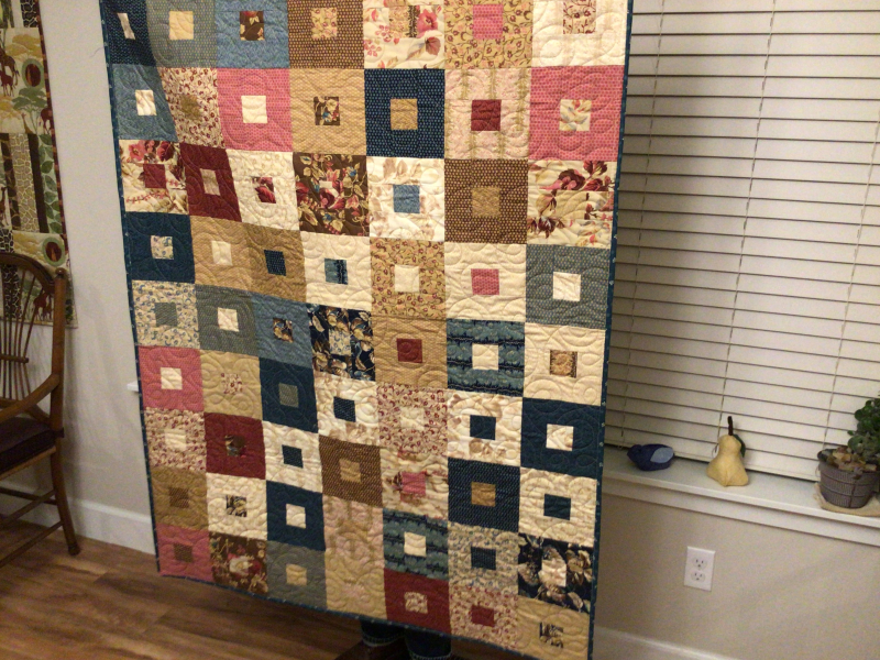 CQ Celia Carlson  quilted by Lorraine Wilkins