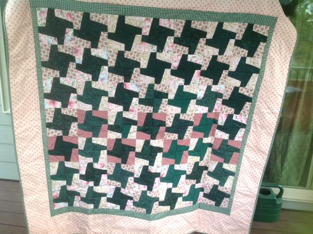 Eileen Heber CC Fat Quarter Quilt