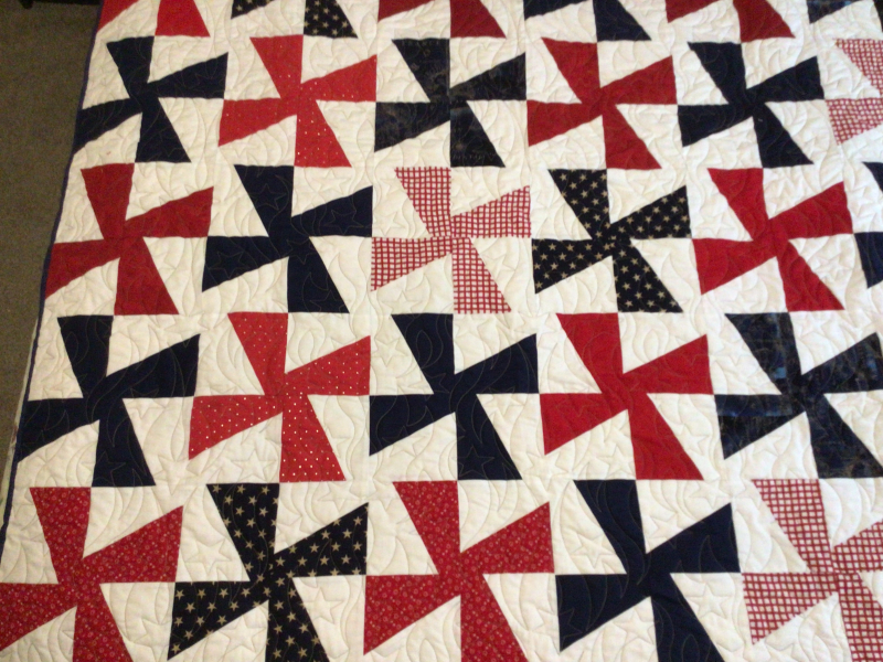 Debbie Hall  quilted by Joyce Andrew