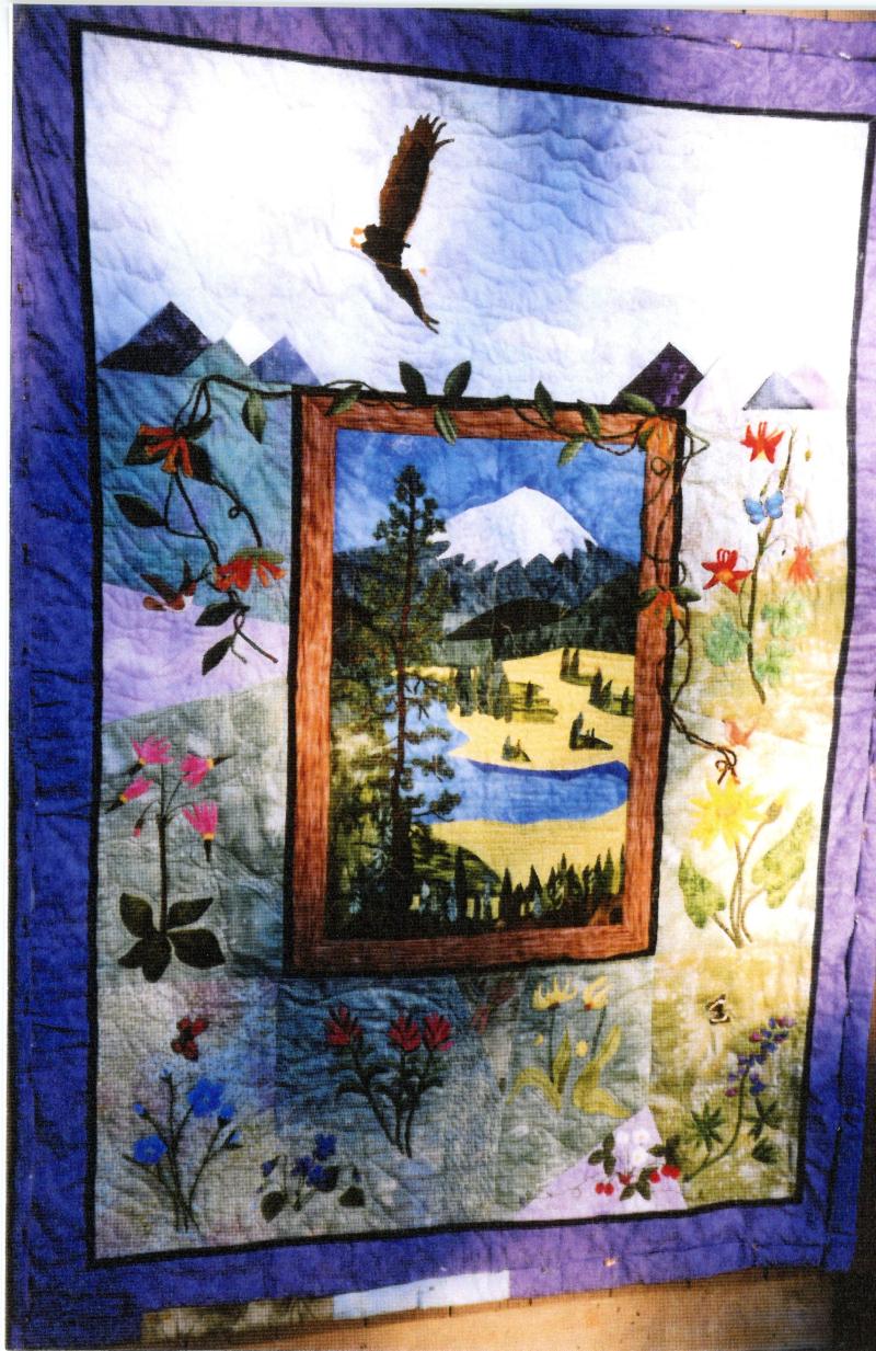 2002 America the Beautiful - An Applique Landscape